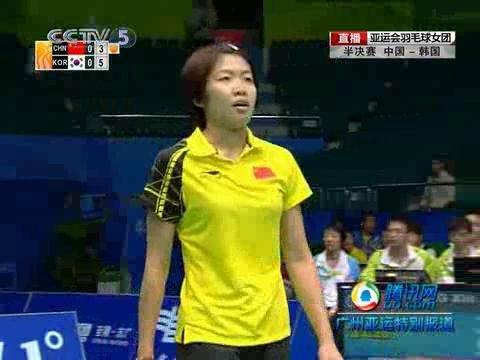 视频合辑:羽球女子团体中国队3-0完胜韩国队