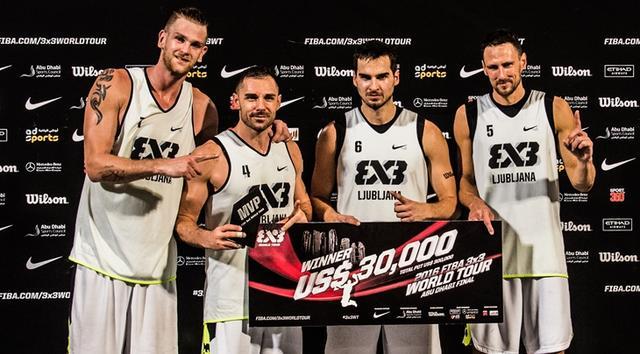 3X3大师赛总决赛 卢布尔雅那问鼎年度总冠军
