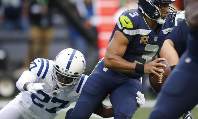 NFL-海鹰46-18大胜小马 威尔逊两达阵终爆发
