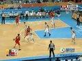 视频:男篮决赛 孙悦控球正面三分命中43-37