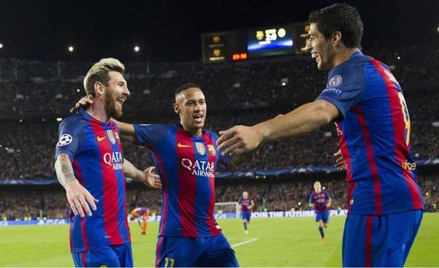 国王杯-巴萨总分4-3大逆转晋级 MSN各入一球