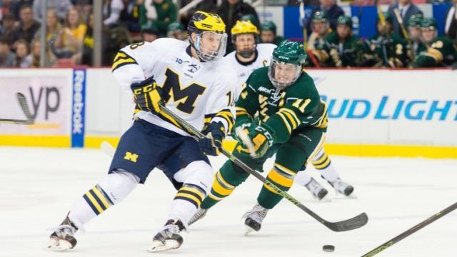 NHL后备力量比拼 NCAA冰球开战青年才俊涌现