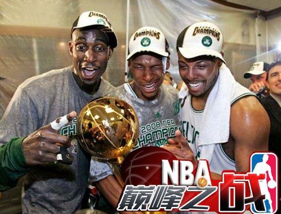 NBA巅峰战之凯尔特人 39分屠湖人KG泣不成声