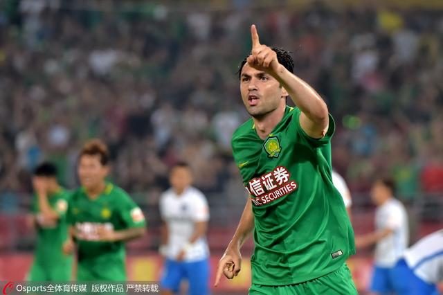 国安2-0泰达4轮首胜 两大外援破门买提江染红