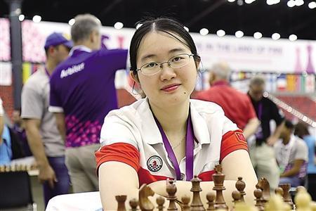 国象世锦赛谭中怡进决赛 将与乌克兰棋手争冠