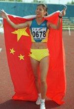 2001年李雪梅弃世锦赛参加大运