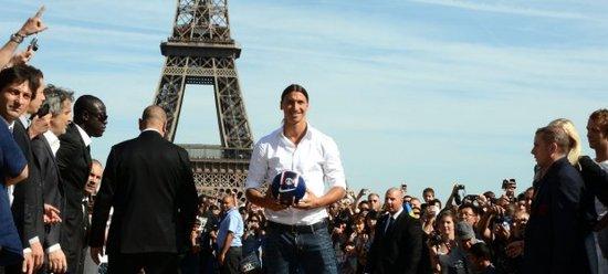 伊布:巴黎圣日耳曼代表者未来 成绩证明一切