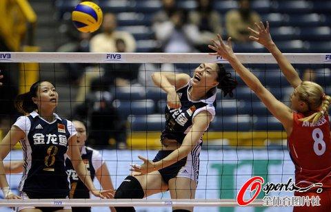 中国女排1-3遭塞尔维亚逆转 无缘复赛两连胜