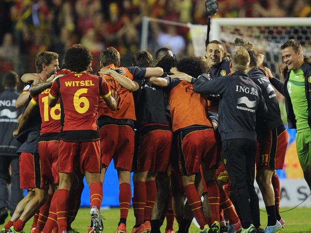 全场集锦:卢卡库梅开二度 比利时客场2-1克罗地亚截图
