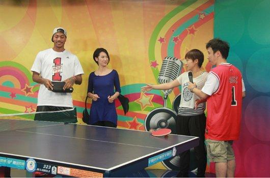 刘诗雯:罗斯有乒乓天赋 比篮球我会死得很惨
