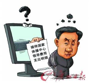 """漫画体坛:中国体育还有多少""""黑色幽默""""?"""
