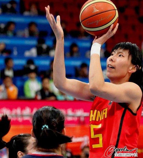 陈楠立功中国险胜韩国 中国女篮卫冕亚运冠军