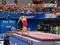 视频:体操单项男子跳马决赛 张成龙落地双脚出界