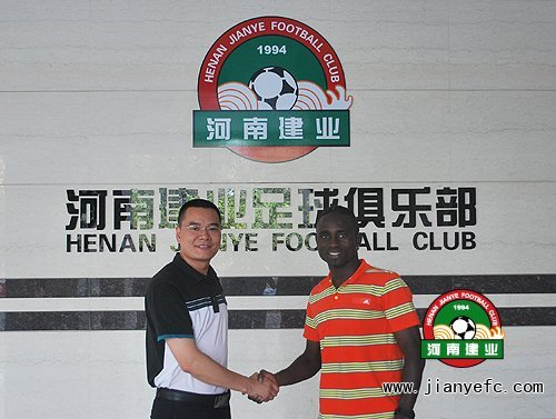 建业签香港籍锋将 原籍加纳完成二次转会首签