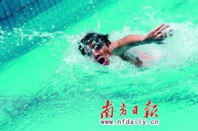 对游泳的热爱始终未变