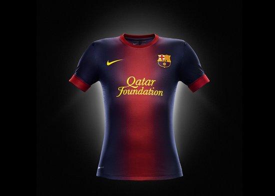 西甲 正文  巴塞罗那 (微博数据)  俱乐部新赛季主客场球衣的设计将图片