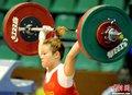 中国女举48公斤级夺冠