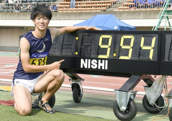 日本男子短跑四人达世锦标准 下周将进行选拔赛