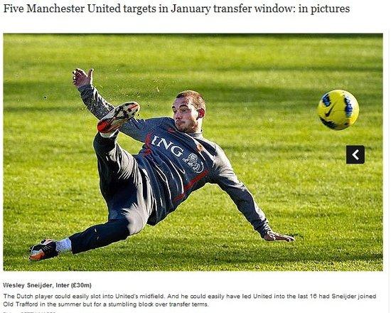 欧冠出局曼联1月大补 1亿镑引援阿内尔卡在列