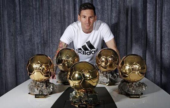 4年3夺金球!31岁C罗死亡追赶 梅西只领先1球