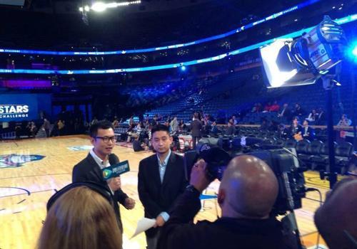 在腾讯!在NBA全明星现场!