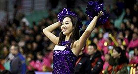 高清:篮球宝贝秀妖娆身材 上演紫色神秘诱惑