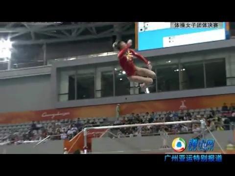 视频集锦:体操女团决赛集锦 中国获十连冠