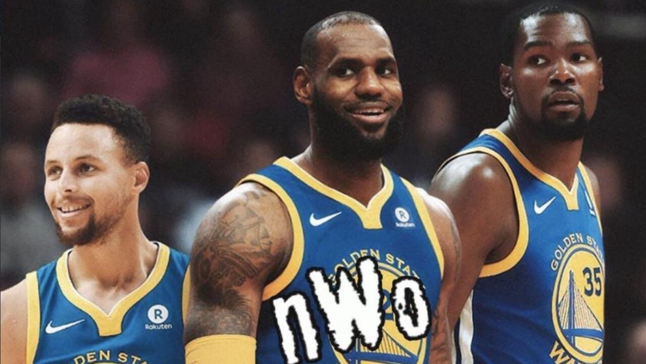 NBA下季球队实力榜:勇士力压火箭 骑士未进前十