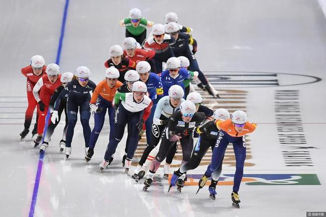 速滑女子集体出发郭丹第五 日本名将封后
