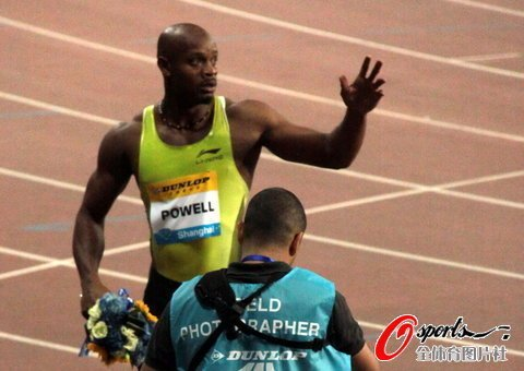 2011上海田径黄金大奖赛选手--鲍威尔