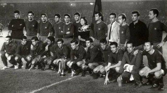 巴塞罗那足球俱乐部1961-1969年间相关历史
