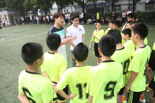 上海-首尔-东京青少年足球合作训练交流活动
