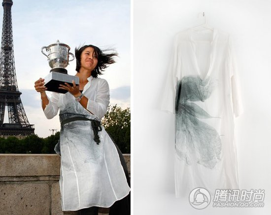 本土品牌因彭丽媛走红 李娜曾穿其拍冠军写真