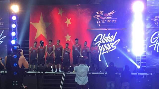 三国篮球慈善邀请赛 街球王吴悠领队出战