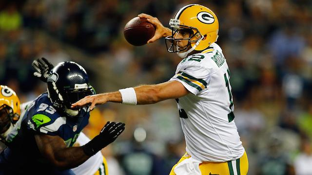 NFL11日4时视频直播包装工vs海鹰 矛与盾对决