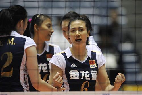 中国女排3-0击败秘鲁 小分劣势基本无缘八强