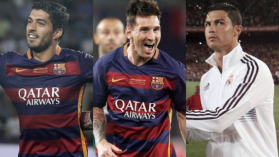 Messi the best player in Europe to compete Suarez title