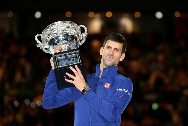 小德3-0完胜穆雷 六夺澳网冠军摘大满贯第11冠