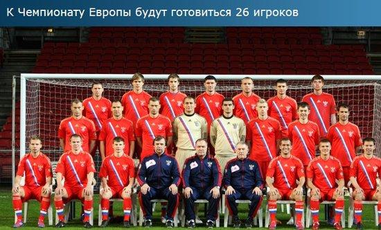 俄罗斯公布欧洲杯26人初选名单 阿尔沙文领衔