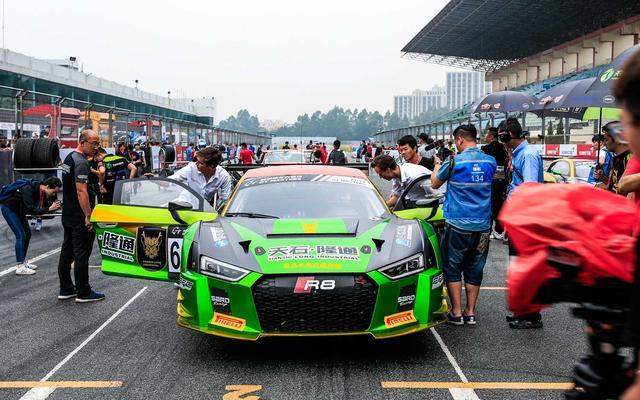 超级跑车大师赛珠海首回合 陕西车队大获全胜