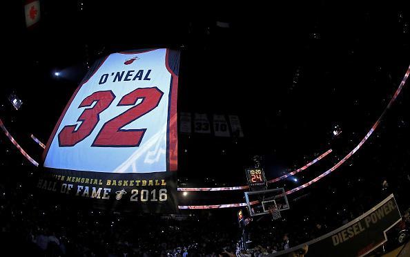 奥尼尔32号球衣正式退役 感谢所有人想念韦德