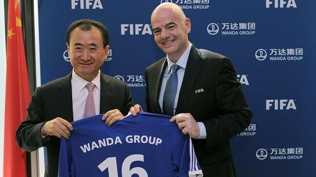 重磅!万达集团成为国际足联赞助商 中国首例