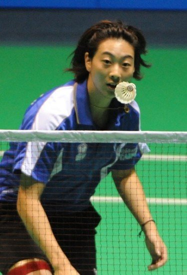 白骁马:决赛没放水 教练不满意羽毛球团体赛