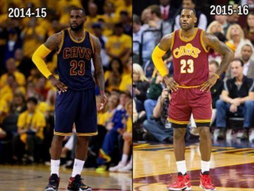 詹皇改变从短裤开始 他将复古风重新带入NBA