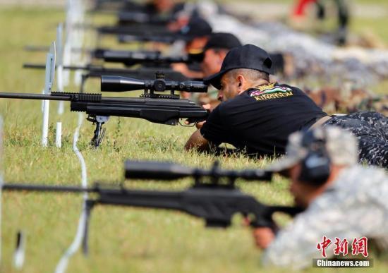 国际狙击手射击赛落幕 雪豹突击队获小组冠军
