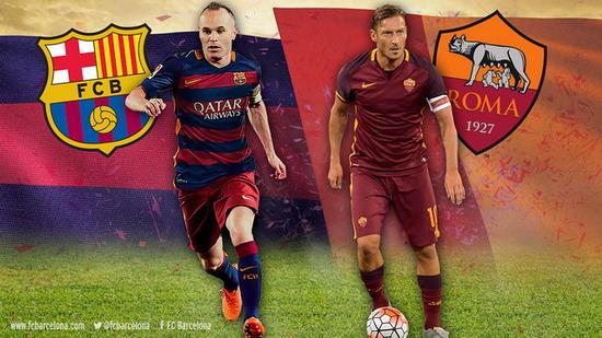 Iniesta and Totti: gentlemen, two captain