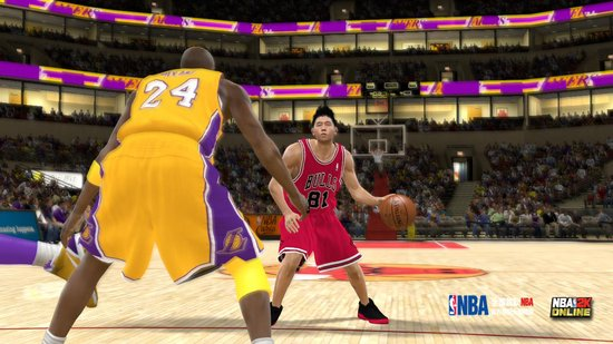 《NBA2K Online》开测 邀您体验真实篮球网游