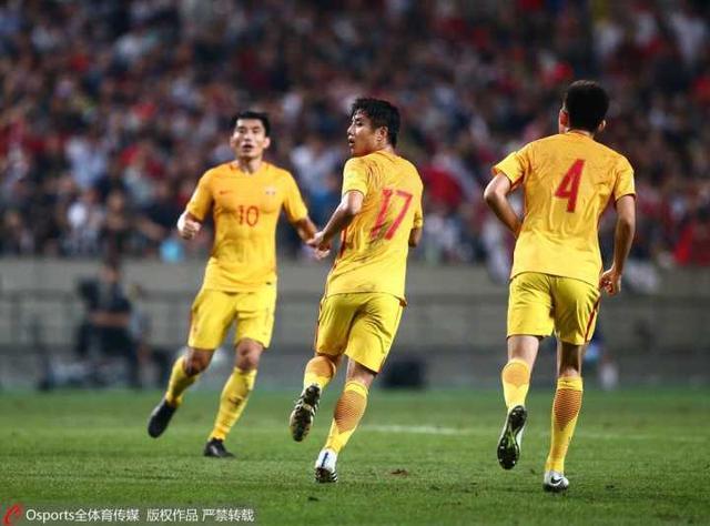世预赛-3分钟2球国足2-3韩国 于海蒿俊闵破门