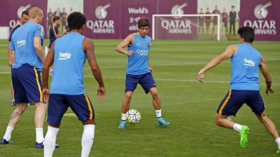Barca prepare for the first round of the league tournament Pedro absence allowed