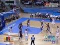 视频:男篮1/4决赛 朱芳雨三分命中追平比分